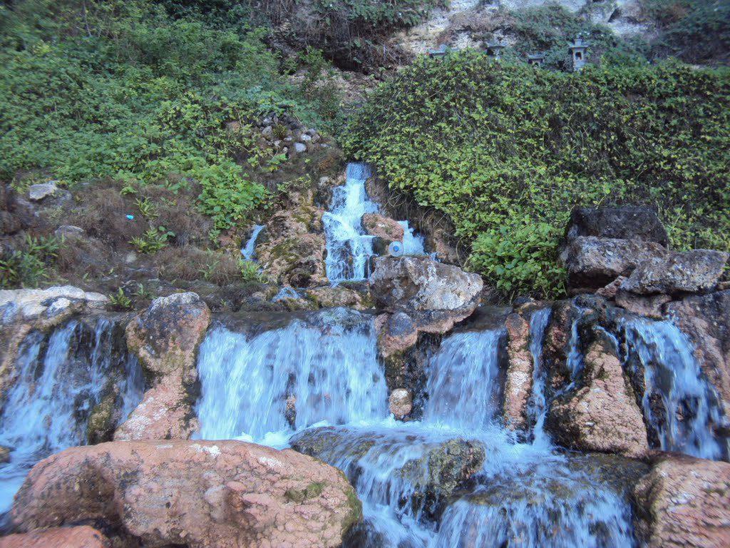 seganing waterfall