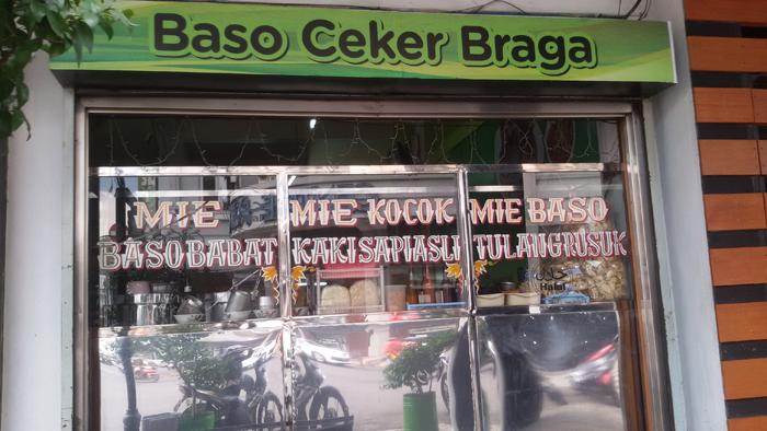 Warung Bakso Ceker Braga